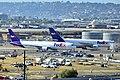 N103FE Federal Express (FedEx) 2013 Boeing 767-3S2F(ER) - cn 43544 - ln 1063 - N670FE Federal Express (FedEx) Airbus A300F4-605R (12141155223).jpg