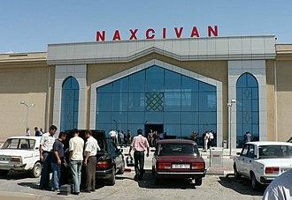 Nakhchivan (city) - Nakhchivan Airport.
