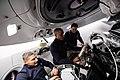 NASA astronauts work aboard the SpaceX Crew Dragon (iss064e004754).jpg