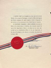north atlantic treaty wikipedia