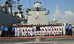 NCC day at sea onboard INS Trikand (2).jpg