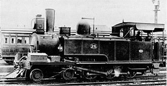 4-6-0 - NGR Class G no. 26, circa 1900