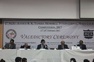 National Law Institute University - Image: NLIU RK tankha