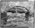 NORTH SIDE, LOOKING SOUTH - Taylor Bridge, Spanning Middle River at Bayfield Road, Amnicon Falls, Douglas County, WI HAER WIS,16-AMN.V,1-1.tif
