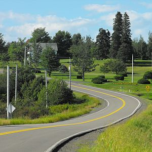 Nova Scotia Route 302 - Route 302 passes through Athol, Nova Scotia.