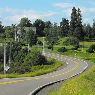 Nova Scotia Route 302 - Route 302 passes through Athol, Nova Scotia.