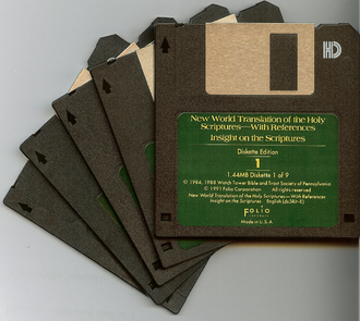 New World Translation of the Holy Scriptures - A diskette edition of the NWT released in 1993