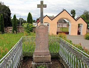 Teodor Narbutt - Narbutt's grave in Nacha, Belarus