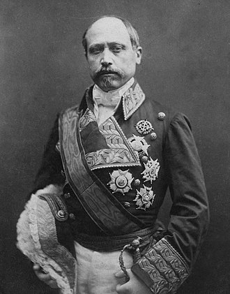 Francisco Serrano, 1st Duke of la Torre - Image: Nadar's photo of Serrano (Retouched)