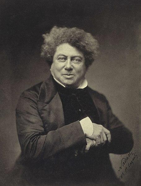 Alexandre Dumas | courtesy Wikimedia