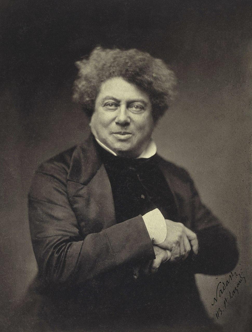 Nadar - Alexander Dumas père (1802-1870) - Google Art Project 2
