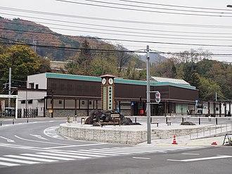 Naganohara-Kusatsuguchi Station - Naganohara-Kusatsuguchi Station, November 2015