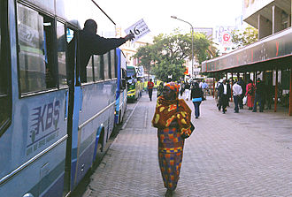 Transport in Kenya - Kenya Bus Services, Nairobi.