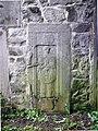 Namur Malonne mediaeval gravestone 02.JPG