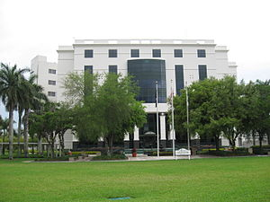The Collier County courthouse in April 2010
