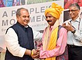 Narendra Singh Tomar at the launch of a short film series on the Swachh Bharat people's movement titled, 'An Open Mind Can', in New Delhi (2).jpg