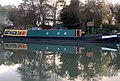 Narrowboat 'Thea' at WFBCo boatyard near Long Itchington - geograph.org.uk - 1573870.jpg