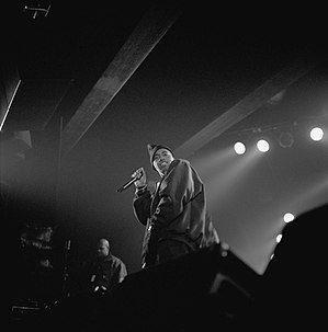 Nas - Nas performing in 2003.