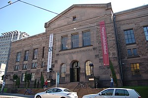 University of Oslo Library - The former building from 1913, today used by the National Library of Norway