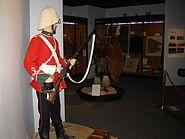 National Army Museum Zulu War display