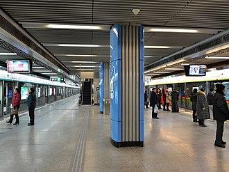 National Library station - National Library Station in February 2013