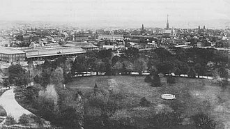 McMillan Plan - The McMillan Plan successfully proposed eliminating National Mall's Victorian-era landscape design (shown here circa 1900).