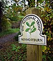 National Trust sign, Minnowburn - geograph.org.uk - 1550797.jpg