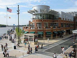 National Harbor, Maryland - McCormick and Schmick's restaurant in May 2008