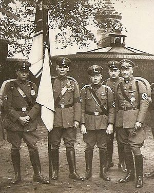 Stahlhelm, Bund der Frontsoldaten - Stahlhelm members after incorporation into the SA, 1934