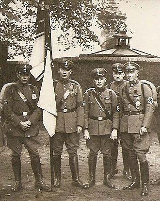 Stahlhelm, Bund der Frontsoldaten - Stahlhelm members after incorporation into the SA, 1934