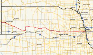 Nebraska Highway 92 State highway in Nebraska, United States