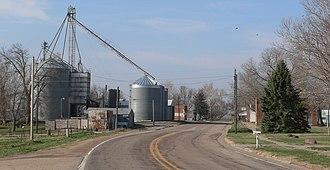 Nemaha, Nebraska - Nemaha, seen from the north along Nebraska Highway 67