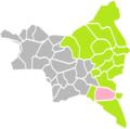 Neuilly-sur-Marne (Seine-Saint-Denis) dans son Arrondissement.png