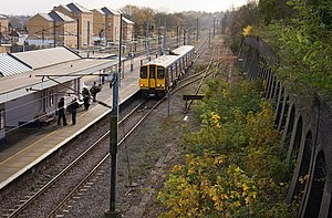 New Barnet railway station - Image: New Barnet Station geograph.org.uk 1056133