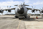 New British Atlas lands at Pope Airfield for the first time 150316-A-DP764-010.jpg
