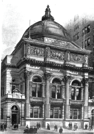 New York Clearing House - The New York Clearing House depicted in the 19th Century
