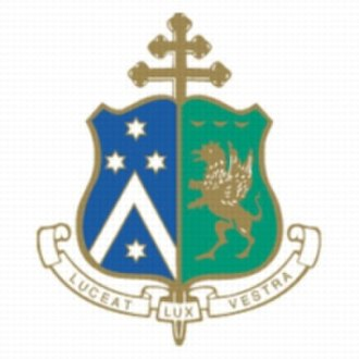 Newman College (University of Melbourne) - Image: Newman College shield