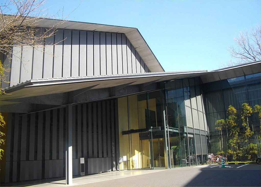 Nezu museum entrance tokyo 2014