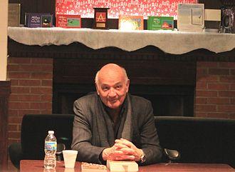 Nicholas Delbanco - Delbanco at a book signing event, Ann Arbor, Michigan, 15 February 2012