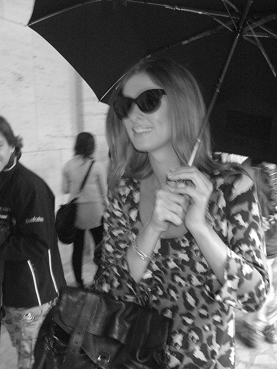 Nicky Hilton @ 2010 New York Fashion Week 01
