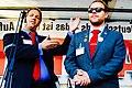 Nico Wehnemann und Christian Scheeff beim Tag der Einheit in Frankfurt a.M.jpg