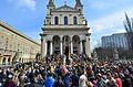 Niedziela Palmowa kościół św. Karola Boromeusza w Warszawie na ul. Chłodnej.JPG
