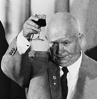Leonid Brezhnev - Nikita Khrushchev, leader of the Soviet Union from 1955 to 1964 and Brezhnev's main patron.
