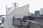 Nimitz Sailors tighten flight deck fall protection nets 150916-N-QY316-266.jpg