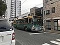 Nishitetsu Bus near Hakozaki Station.jpg