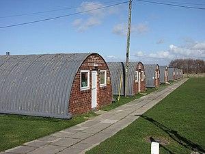 Peter Norman Nissen - Nissen Huts at Altcar Training Camp