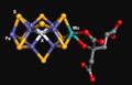 Nitrogenase FeMo cluster A vinelandii 1M1N.png