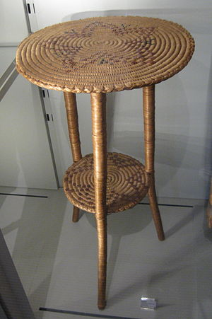 Nlaka'pamux - A Nlaka'pamux table.