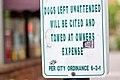No Unattended Dogs in Flagstaff.jpg