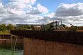 Noria, jardins du muséum de Toulouse bassin.JPG